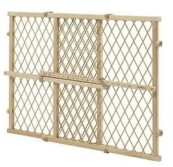 Baby Pet Gate Extra Wide Wooden Expanable Door Tall Infant C