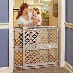 "North States 42"" Wide Supergate Ergo Baby Gate: Easy-fit and"