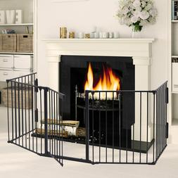 fireplace fence safety hearth