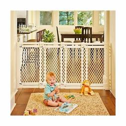 Indoor Safety Gate Extra Wide slide swing 62 inch Stair for