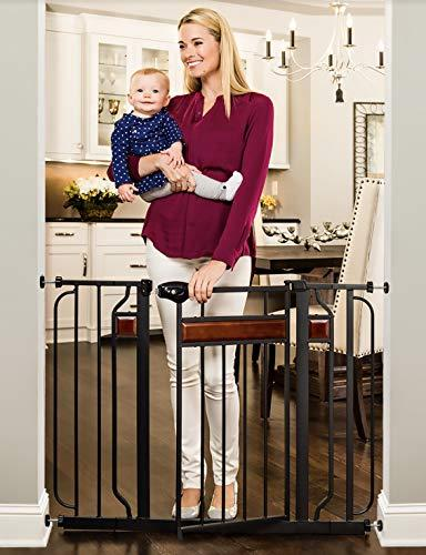 Regalo Home Accents 43-Inch Extra Wide Walk Thru Baby Gate,