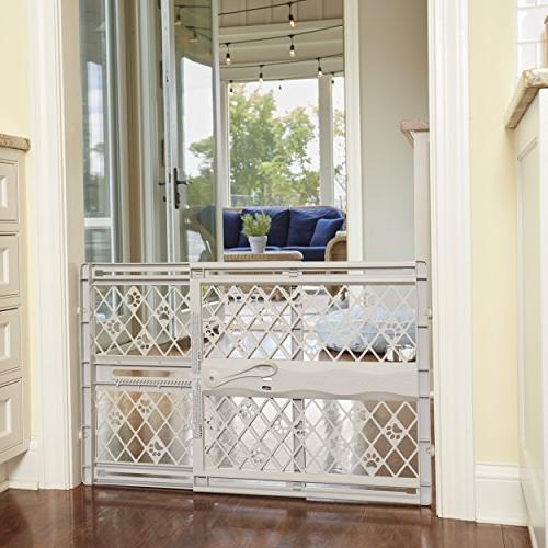 "North 42"" Portable Gate: Expands Locks in Place Pressure Mount. Fits"