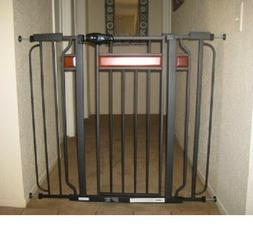 Baby Safety Metal Gate Door Walk Extra Wide Child Toddler Do